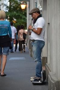 Musician on the streets of Old San Juan. Photo by: Maricel Jiménez